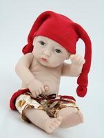 "10"" Mini Custom reborn babies full vinyl baby alive doll handmade boy real baby doll lifelike kids toys"