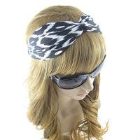 Hair Accessory  Fashion Lozenge Kink  HeadBand For Women Girl Black
