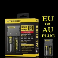 Free Shipping NITECORE SYSMAX Version 2.0 Universal Intellicharger i2 Battery Charger For 26650/22650/18650/17670/18490/17500