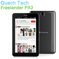 3G Tablet Phone Freelander PX2 Quad Core MTK8389 Dual SIM GSM WCDMA 7 Inch Android 4.2 Jelly Bean GPS 1G RAM 8MP Free Shipping