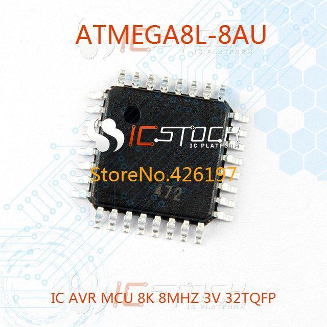 ATMEGA8L-8AU IC AVR MCU 8K 8MHZ 3V 32TQFP 3pcs(China (Mainland))