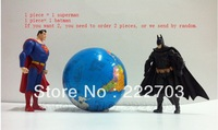 superman Batman hand feet move big size Hot new 2013 special toys for boys anime action figure children pvc toy story model kids