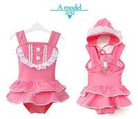 New baby girls bath suit kids swimsuit Swimwear  princess  Bikini  211