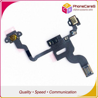 200pcs/lot ,Grand AA Quality Proximity Light Sensor Power Button Flex Cable Ribbon For iPhone 4 4G, Free shipping By DHL