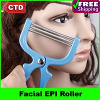 2pcs/lot Painless Facial EPI Roller Epilator Hair Removal Device Remover Tweezer Facial Hair Trimmer Pro Makeup