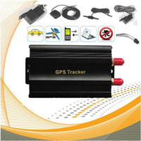 Realtime GPS Tracker Drive Vehicle Car GPS/GSM/GPRS Tracking System TK103A with TF card slot