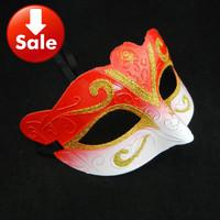 on sale elegant party mask Venetian Masquerade ball decoration halloween mask mardi gras costume christmas gift 50pcs/lot