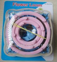 Free Shippng Yarn Craft Maker Flowers Pattern Tassels Loom DIY Tools Kit New Set Of 6 Sizes 9 pcs Yarn Needle Home Craft