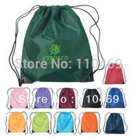 Drawstring backpack bag polyester drawstring bag shopping drawstring bagpack  Drawstring backpacks polyester bag