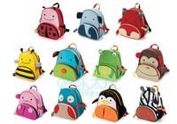 Free shipping lovely Zoo Pack Free shipping Hot baby kindergarten children bag cartoon bag animal shape bag for children