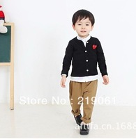 2014 new arrival, hot sell spring&autumn children outwear, boy's and girl's candy color cotton coat BGW-264