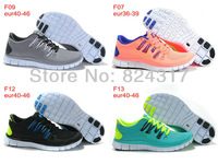 free shipping 2013 free run 5.0 sneakers running shoes for men and women brand online sale