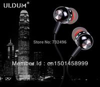 ULDUM 2014 stereo in-ear earphones with mic bass headphone mp3 mp4 headset
