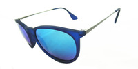 2013 Free shipping new brand design  round plastic sunglasses 8 colors  fashion sunglasses for women