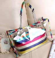 New 2014 Jelly Handbags Bag Pu Women Transparent Beach Bags and Totes Three Colors Ladies Handbags On Sale