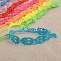 BATMAN Clown Skull Italian lace bracelet CR40 Clown skull 44pcs/lot mixed Italy Fashion lace bracelet charm lace bracelet