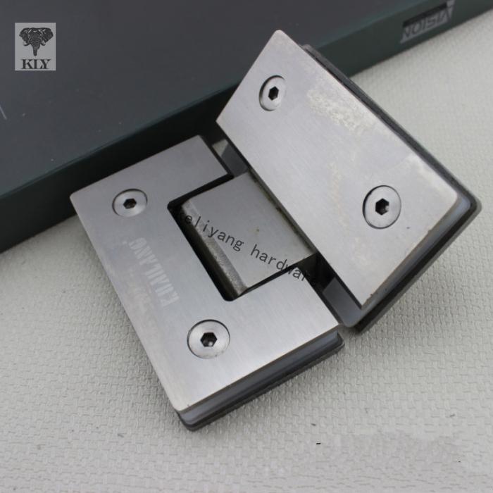 Heavy Frameless Shower Door Hinges,135 Degree Hinge 4mm thick(China (Mainland))