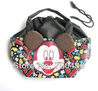 Free Shipping  6pc  Cartoon student lunch box bag / lunch box/ lunch  / lunch  / hand bag handbag