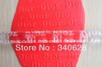 Factory Wholesale 10 PCS Charming Logo  Embossing Rolling Pins sugar craft tools Fondant Cake Decoration--A169