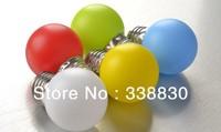 Free Shipping 50pcs/lot Small LED Bulb Lamp E27 Red Green Blue Yellow White Cover Christmas Lamp Colorful Mini Festival Lamp