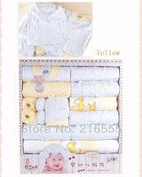 17 Pieces(set) Baby Supplies Newborn Gift Set / Infant Clothing Set/ Baby Suit Baby Clothing High Quality!Gift Sets For Newborns