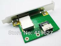 nternal SFF-8087 Mini sas36P to External SFF-8088 Mini sas 26P PCI SAS sata drives Adapter