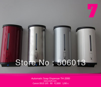 Luxury Automatic Soap Dispenser, 800mL Capacity, Stainless Steel Cover, Free Shipping Touch Less Liquid Soap Spray Dispenser