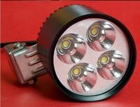 Free Freight  led motorcycle aluminum bulb XML U2 30W 3100LM motorcycle LED headlight lampsspot light kits with quad lights lens