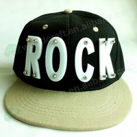 2013 NEW Style Fashion ROCK Adjustable Baseball Cap Snapback Hip-Hop Hats baseball cap men