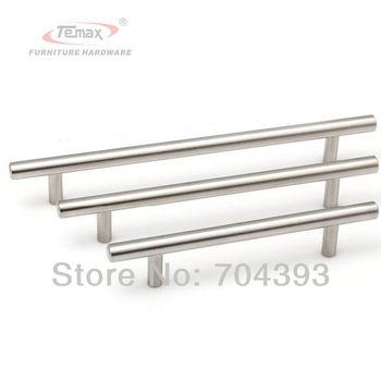 10pcs 96mm Modern Furniture Hardware Stainless Steel Kitchen Cabinet Knobs And Handles Dresser Drawer Pulls