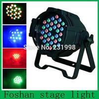 (Whole sale and New!!) Digital display High quality 36*1w led par light, led par can ,Black Aluminum