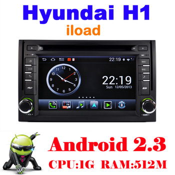 Car DVD for Hyundai H1 Starex IMAX ILOAD I800 with 3G Wifi 1G CPU S150 Support DVR Audio Headunit GPS Navigation Free shipping