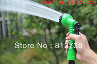 Hot sale! Garden Water Hose & Pocket hose Rewindable and  flexible hose 50FT Garden Green Hose