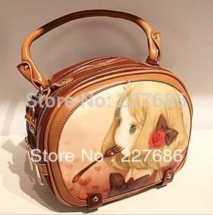 2013 fashion cute baby bag handbag vintage messenger bag fashion bag small women's handbag