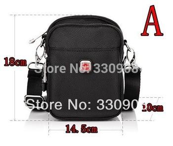 Швейцарские бренды импортные ткани мужчины спорта отдыха сумка сильный ткань оксфорд одного плеча сумка мужская портфель сумка