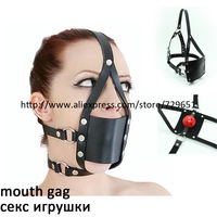 New Arrival Alternative toys mouth gagged the ball horse with type Oral Fixation mouth stuffed H0335 Free shipping