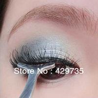 Free Shipping False Eyelash Clip Tweezers Eyelash Auxiliary Clip Eyelash Curler Makeup Tools