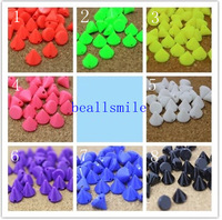 free shipping 2014 ABS 10mm Sewing Spikes Punk Mixed Color Plastic Studs Nailhead Rivet DIY fIphones Mobile Accessory 200pcs/lot