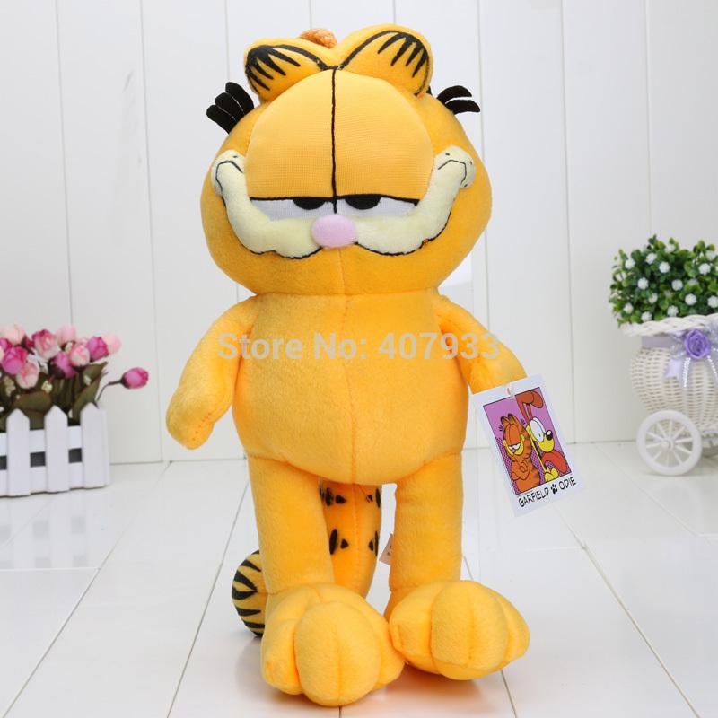1PIECE Garfield Cat 13'' 33CM Free shipping Plush Stuffed High Quality Soft Plush Figure doll Toy(China (Mainland))