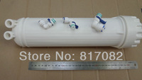 RO membrane housing with free connectors for membrane 3013/2813
