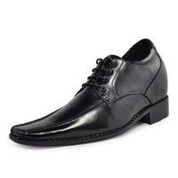 6135 Hot sale handmade good quality genuine elevator leather shoes