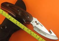 6pcs Free Shipping Buck hook cut Knife Rocky Mountain Elk Foundation 490