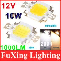 10W LED Light source  LED Lamp Chip 900-1000LM Bright Light 12v spotlight High Power free shipping