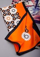 2014 Autumn-summer Luxury 100% Silk Scarf Designer Big Size Silk Scarves For Women Pure Silk Brand Shawl Scarfs 90x90cm SF0159