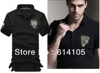HOT!2014 Summer Shirts For Mens Casual embroidered bull brand Polo Man Sport POLO shirt