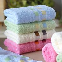 Free Shipping 100% Cotton Face Towels Bulk Hand Towels Salon Towels Housewares 76x34cm Wholesale HT201327