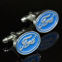 High Quality Brass Men Gift Emblem Car Custom Enamel Replica Cufflinks