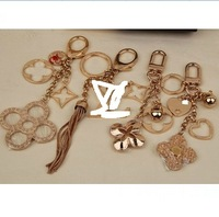 Hot Selling .  Major Vogue & High Quality Full Metal Clover Key Chain , Jewelry / Auto Accessories .  Free shipping