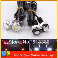 2pcs/lot Hight power 3W car lighting light eagle Eye led Daytime Running Light Tail lamp for car brake/parking lights