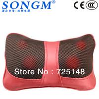 Hot Sell Portable PU Cover Shiatsu Massage Pillow